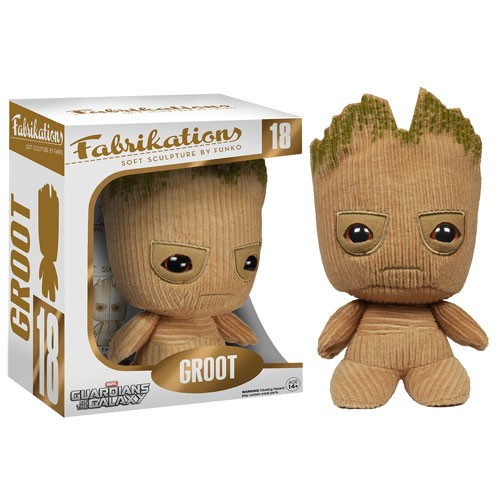 Action Figures Plush Fabrikations Groot-Guardiões da Galáxia-