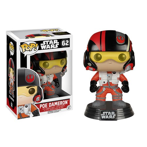 Poe Dameron Star Wars Funko Pop Bobble Head-Stars Wars-62