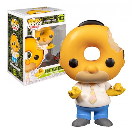 Pop! Funko Donut Head Homer Special Edition-The Simpsons-1033