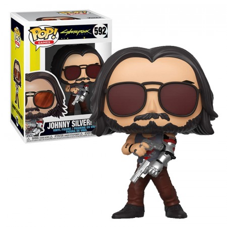 Pop! Funko Johnny Silverhand 2 Guns-Cyberpunk 2077-592