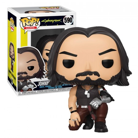 Pop! Funko Johnny Silverhand-Cyberpunk 2077-590