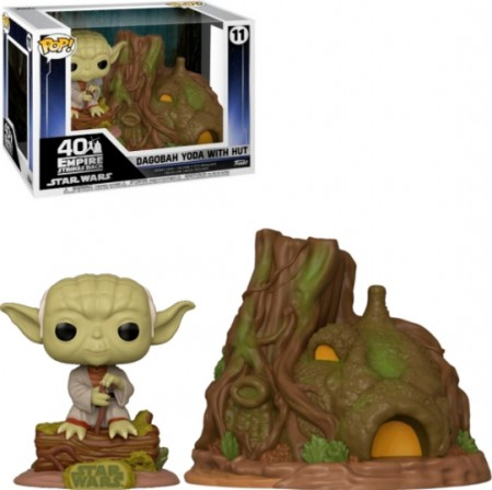 Pop! Town Dagobah Yoda With Hut-Stars Wars-11