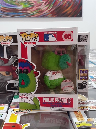Pop Vinyl Pop Mlb  Phillie Phanatic #5 *vaulted*-MLB-5