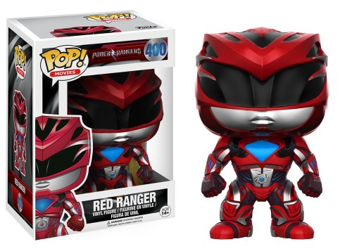 Funko Pop Power Ranger - Red Ranger-Power Rangers-400