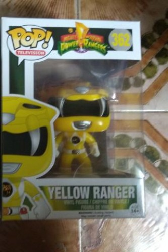 Funko Pop Power Ranger Amarelo-Power Rangers-362