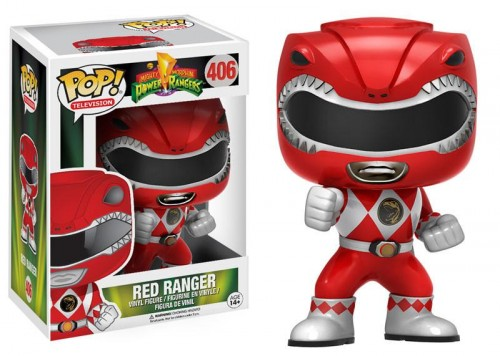 Funko Pop Power Rangers - Red Ranger 406-Power Rangers-406