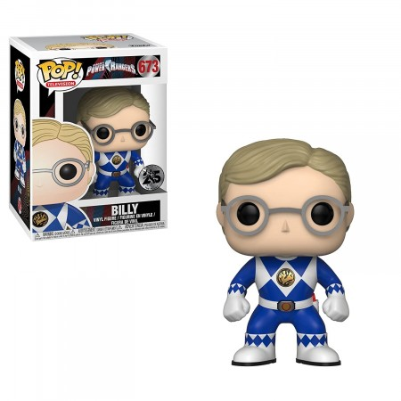 Power Rangers Blue Ranger Billy Funko Pop!-Power Rangers-673