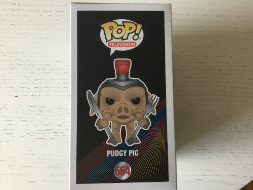 Funko Pudgy Pig Power Rangers Exclusive Com Protetor - Power Rangers - #664