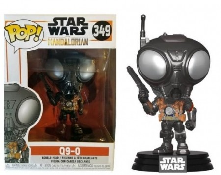 Funko Pop Q9-0-Star Wars The Mandalorian-349