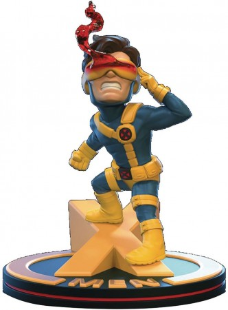 Action Figures Qmx - X-men - Cyclops Q-fig Diorama-X-Men-