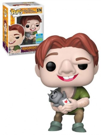 Funko Pop! Quasimodo Holding Gargoyle Sdcc 2019 Limited Edition-The Hunchback Of Notre Dame-579