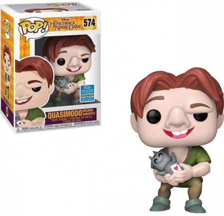 Funko Pop Quasimodo Sdcc - The Hunchback of Notre Dame. - #574