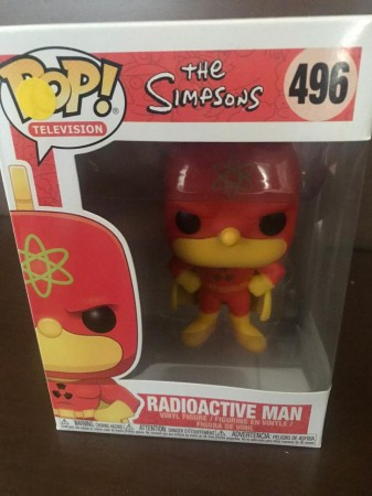 Funko Pop Radioative Man - The Simpsons - - The Simpsons - #496
