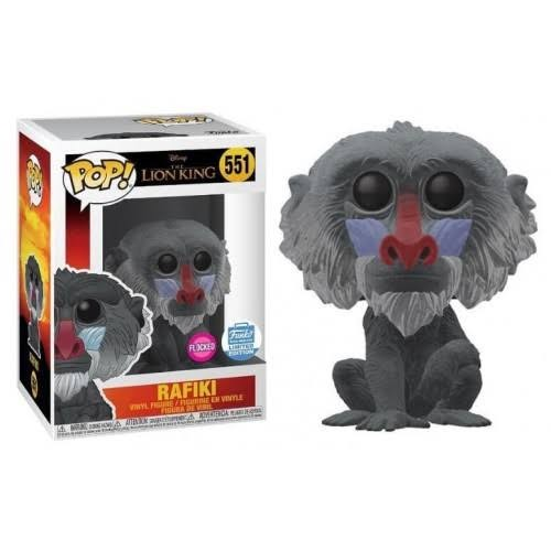 Rafiki Funko Shop Exclusive Flocked-O Rei Leão-551