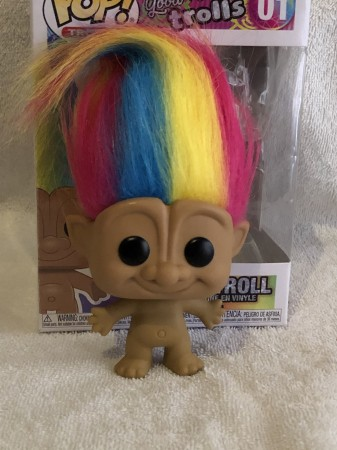 Funko Pop Rainbow Troll-Good Luck Trolls-1