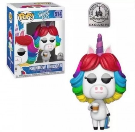 Funko Pop Rainbow Unicorn Excl. Disney Store-Inside Out-514