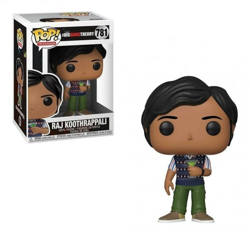 Funko Pop Raj Koothrappali-The Bing Bang Theory-781