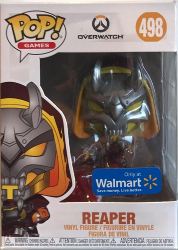 Reaper - Overwatch - Funko Pop! Games Exclusivo Walmart-Overwatch-498