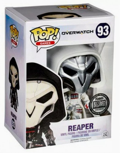 Funko Pop Reaper White Excl. Blizzard - Overwatch - #93