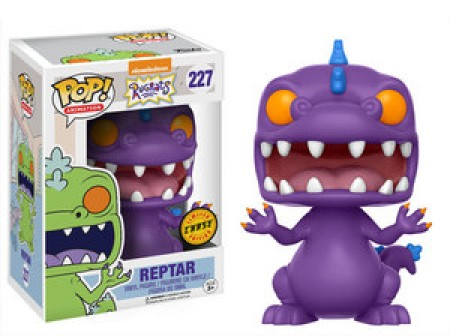 Funko Pop Reptar Chase (purple)-Rugrats-227