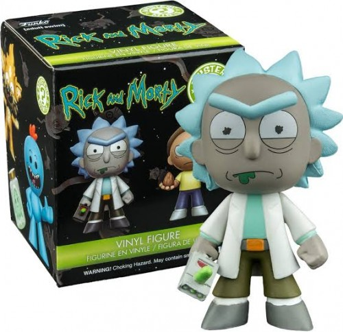 Action Figures Rick - Funko Mystery Mini-Rick and Morty-