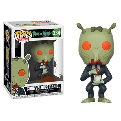 Rick And Morty Cornvelious Daniel Mulan Sauce Funko Pop! - Rick And Morty - #334