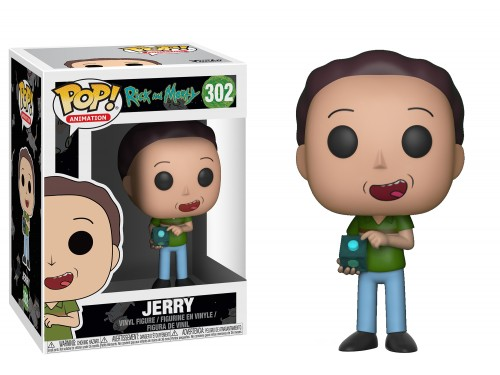 Rick And Morty Jerry Funko Pop!-Rick and Morty-302