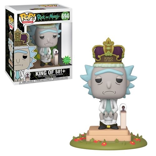 Rick And Morty King Of S#!+ Electronic Deluxe Pop-Rick and Morty-694