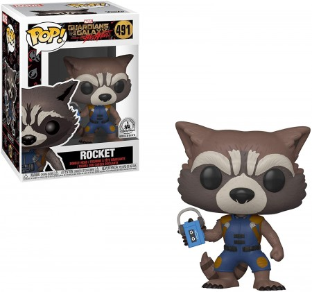 Funko Pop Rocket ( Mission Breakout) - Disney Parks Exclusive-Guardians Of The Galaxy-491
