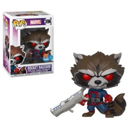 Funko Pop Rocket Raccoon (classic) - Marvel Studios - #396