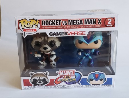 Funko Pop Rocket Vs Mega Man X-Marvel-2