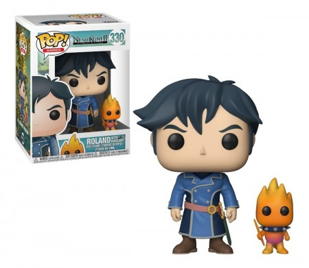 Funko Pop Roland With Higgledy-Ni No Kuni-330