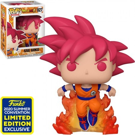 Funko Pop Ssg Goku Sdcc-Dragon Ball-827