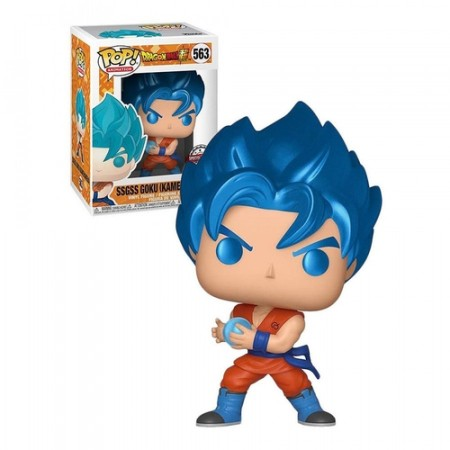 Funko Pop Ssgss Goku (kamehameha)-Dragon Ball-563