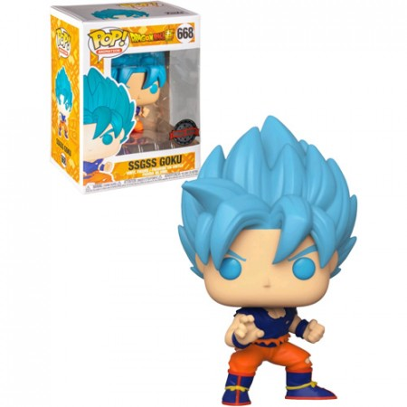 Funko Pop Ssgss Goku-dragon ball super-668