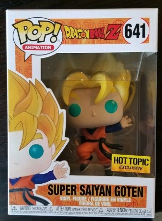 Funko Pop Super Saiyan Goten - Dragonball Z - Hot Topic!-dragon ball Z-641