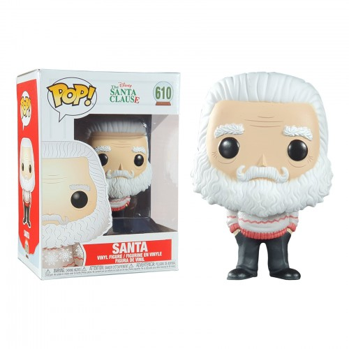 Funko Pop Santa Clause - Papai Noel -  Natal - Holiday-Disney-610