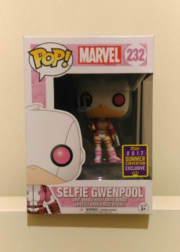 Funko Selfie Gwenpool Sdcc-Marvel Comics-232