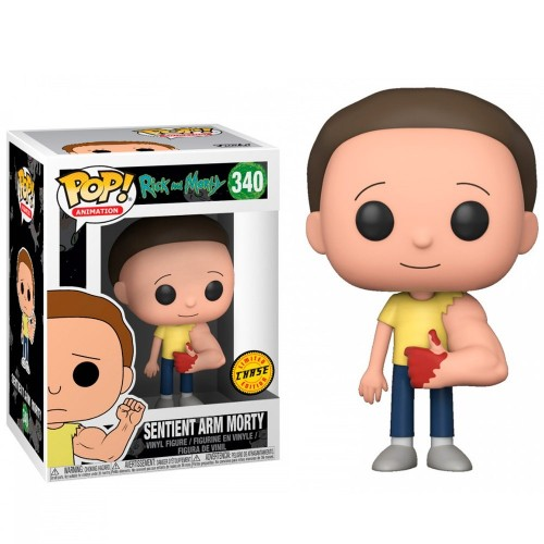 Funko Pop Sentient Arm Morty - Chase-Rick and Morty-340