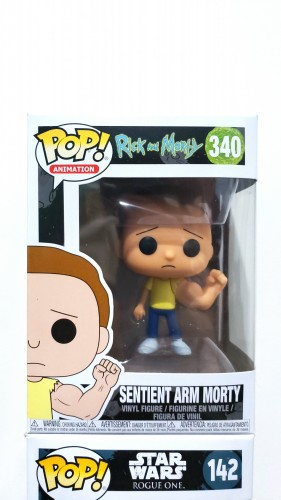 Funko Pop Sentimento Arm Morty - Rick and Morty - #340