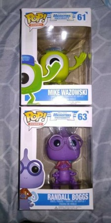 Funko Pop Set Monstros Sa-Monstros S.A-61