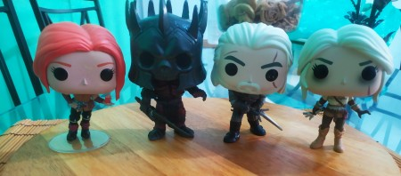 Funko Pop Set The Witcher-The Witcher-1
