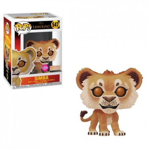 Funko Simba Flocado - Box Lunch-O Rei Leão-547