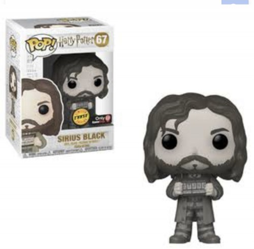 Funko Pop Sirius Black Limited Edition Chase-Harry Potter-67