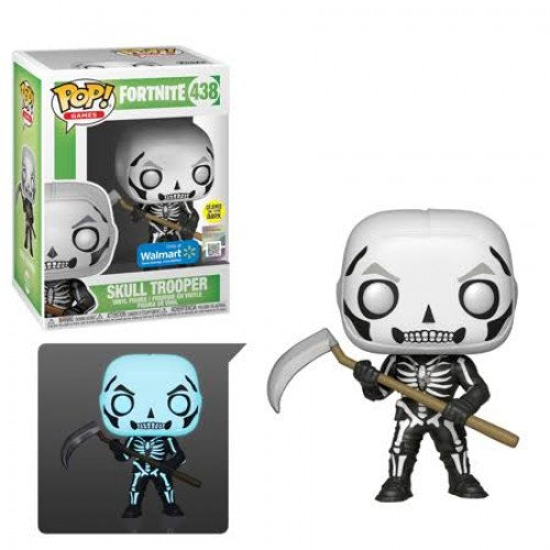 Funko Pop Skull Trooper - Glow In The Dark - Walmart-Fortnite-438
