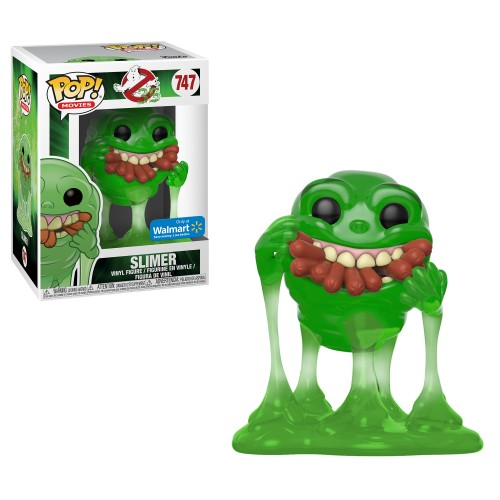 Slimer Hot Dogs Translucent - Ghostbusters - Funko Pop! Exclusivo Walmart-Ghostbusters-747