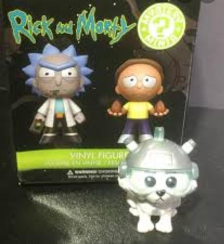 Action Figures Snowball - Funko Mystery Mini-Rick and Morty-