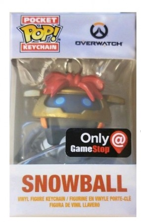 Chaveiro Snowball Exclusivo Gamestop-Overwatch-