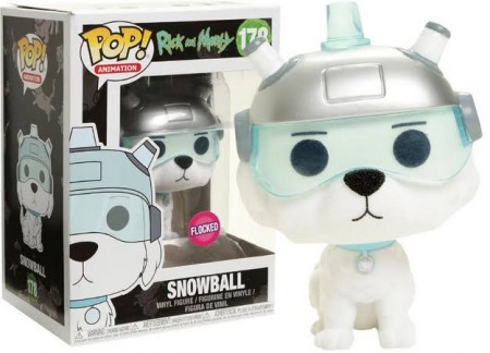 Funko Pop Snowball Flocked-Rick And Morty-178
