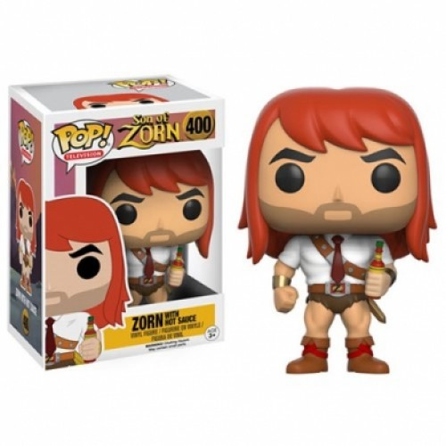 Son Of Zorn With Hot Sauce Funko Pop!-SON OF ZORN-400